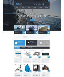 PrestaShop e-shop šablona na téma Sport č. 52845