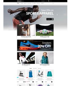 PrestaShop e-shop šablona na téma Sport č. 52907