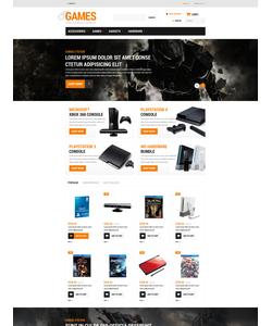 PrestaShop e-shop šablona na téma Hry č. 52926