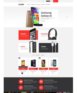 PrestaShop e-shop šablona na téma Elektronika č. 52943