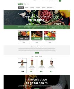 PrestaShop e-shop šablona na téma Jídlo a pití č. 52962