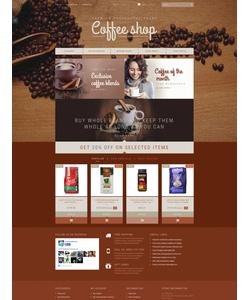 PrestaShop e-shop šablona na téma Café a restaurace č. 52984