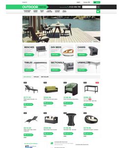 PrestaShop e-shop šablona na téma Interiér a nábytek č. 53025
