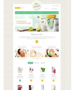 PrestaShop e-shop šablona na téma Krása č. 53110