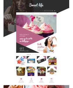PrestaShop e-shop šablona na téma Jídlo a pití č. 53308