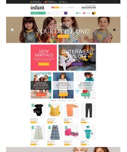PrestaShop e-shop šablona na téma Rodina č. 53453