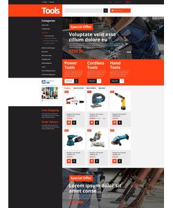 PrestaShop e-shop šablona na téma Nejpopulárnější č. 53477