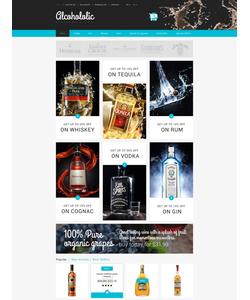 PrestaShop e-shop šablona na téma Jídlo a pití č. 53586