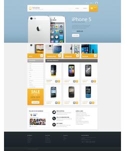PrestaShop e-shop šablona na téma Elektronika č. 53756