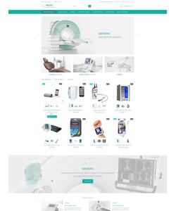 PrestaShop e-shop šablona na téma Lékařské č. 53790