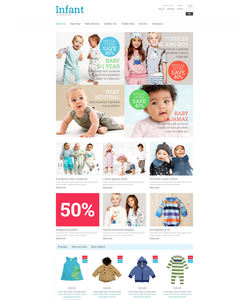 PrestaShop e-shop šablona na téma Rodina č. 53853