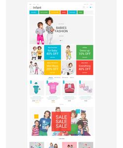 PrestaShop e-shop šablona na téma Rodina č. 53858