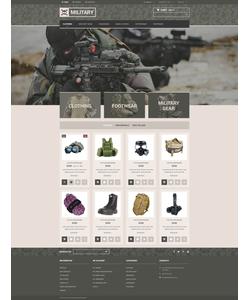 PrestaShop e-shop šablona na téma Vojenské č. 53884