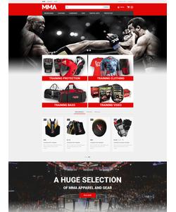 PrestaShop e-shop šablona na téma Sport č. 53945