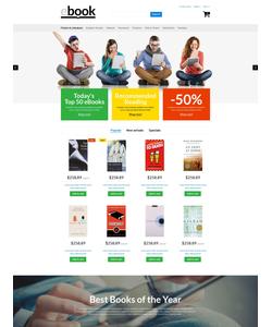 PrestaShop e-shop šablona na téma Knihy č. 53956