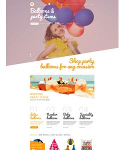 PrestaShop e-shop šablona na téma Zábava č. 54003
