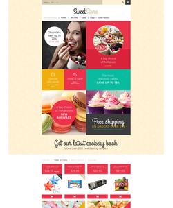 PrestaShop e-shop šablona na téma Jídlo a pití č. 54553