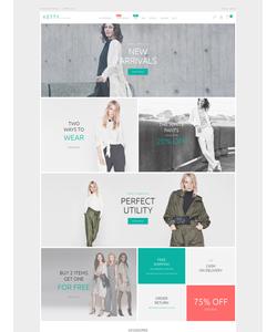 PrestaShop e-shop šablona na téma Móda č. 54945