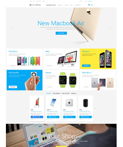 PrestaShop e-shop šablona na téma Elektronika č. 55036
