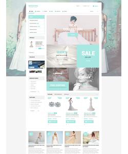 PrestaShop e-shop šablona na téma Svatby č. 55061