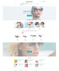 PrestaShop e-shop šablona na téma Móda č. 55162
