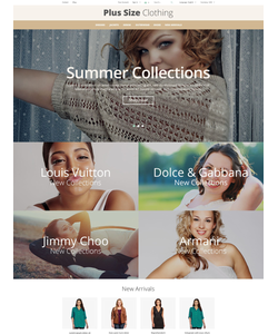 PrestaShop e-shop šablona na téma Móda č. 55172