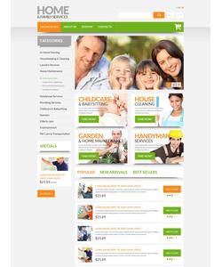 PrestaShop e-shop šablona na téma Rodina č. 55177