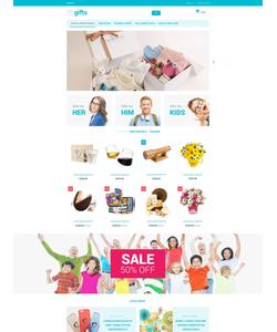 PrestaShop e-shop šablona na téma Dárky č. 55209