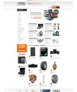 PrestaShop e-shop šablona na téma Podnikání č. 55221