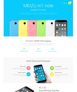 PrestaShop e-shop šablona na téma Elektronika č. 55372