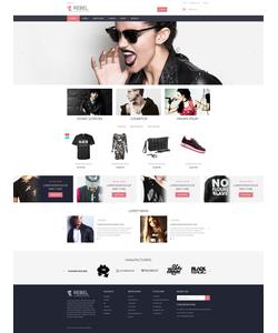 PrestaShop e-shop šablona na téma Móda č. 55378
