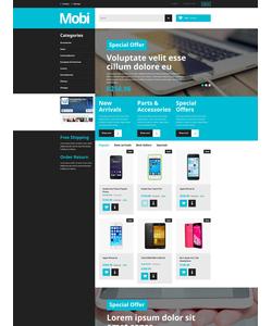 PrestaShop e-shop šablona na téma Elektronika č. 55488