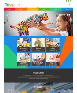 PrestaShop e-shop šablona na téma Zábava č. 55581