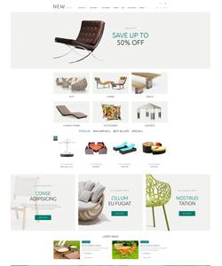 PrestaShop e-shop šablona na téma Venkovní design č. 55587