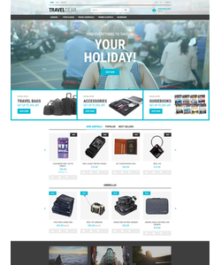 PrestaShop e-shop šablona na téma Cestování č. 55685