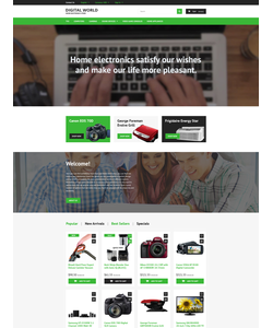 PrestaShop e-shop šablona na téma Elektronika č. 55699