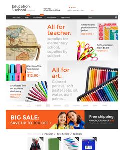 PrestaShop e-shop šablona na téma Podnikání č. 55737