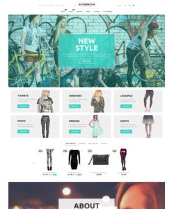 PrestaShop e-shop šablona na téma Móda č. 55952
