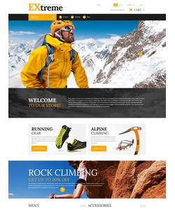 PrestaShop e-shop šablona na téma Sport č. 55981