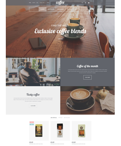PrestaShop e-shop šablona na téma Café a restaurace č. 56108