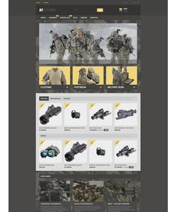 PrestaShop e-shop šablona na téma Vojenské č. 57689