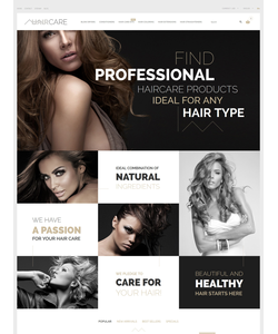 PrestaShop e-shop šablona na téma Krása č. 57705