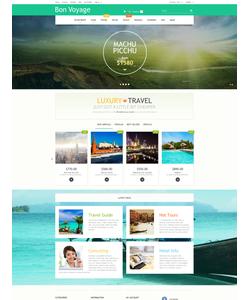 PrestaShop e-shop šablona na téma Cestování č. 57737