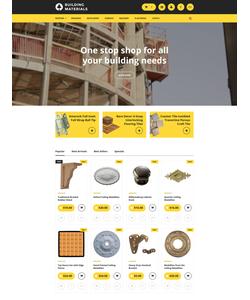 PrestaShop e-shop šablona na téma Průmysl č. 57748