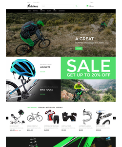 PrestaShop e-shop šablona na téma Sport č. 57753