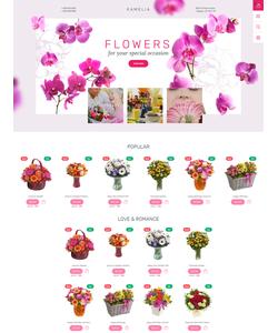 PrestaShop e-shop šablona na téma Květiny č. 57810
