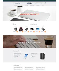PrestaShop e-shop šablona na téma Počítače č. 57930