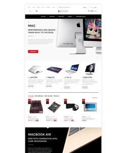PrestaShop e-shop šablona na téma Počítače č. 57939