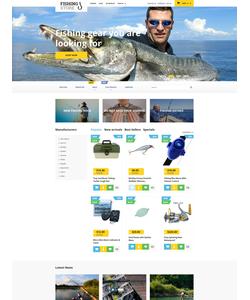 PrestaShop e-shop šablona na téma Sport č. 58024