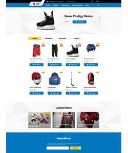 PrestaShop e-shop šablona na téma Sport č. 58043